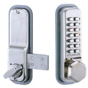 Codelocks - Cerradura CL200 - superficie de acero inoxidable cerrojo ...