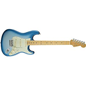 Fender 0114002736 American Elite Stratocaster Maple Fingerboard Electric Guitar – Sky Burst Metallic