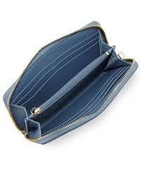 Tory Burch Women's Embossed T Zip Continental Wallet, Comet, One Size