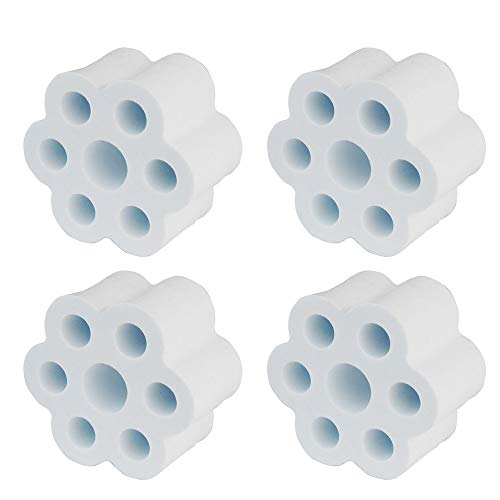 """KOELIN Cup Turner Foam - 4 Pieces Cup Turner Accessories fit 30 oz Tumbler for 3/4"""" PVC Pipe High Density Foam The Partner for Cup Spinner Machine"""