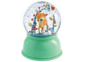 DJECO Fawn Night Light Snow Globe