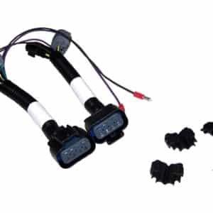 Amazon.com: SnowDogg Part # 16071100 HEADLIGHT ADAPTER KIT, H13/9008 on snowex wiring harness, kawasaki wiring harness, meyer wiring harness, boss wiring harness, snapper wiring harness, toro wiring harness, curt wiring harness, draw-tite wiring harness, fisher wiring harness, blizzard wiring harness, simplicity wiring harness, hiniker wiring harness,