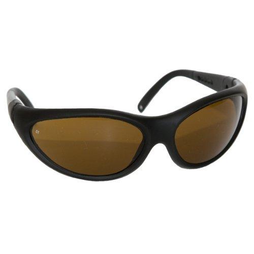 Noir Glasses - NoIR Sunglasses Medium Amber Wraparound Style 401-35