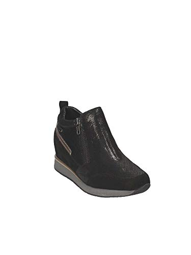 36502 Valleverde Sneakers Donna Donna Valleverde Sneakers Nero 36502 qfSnn81w7