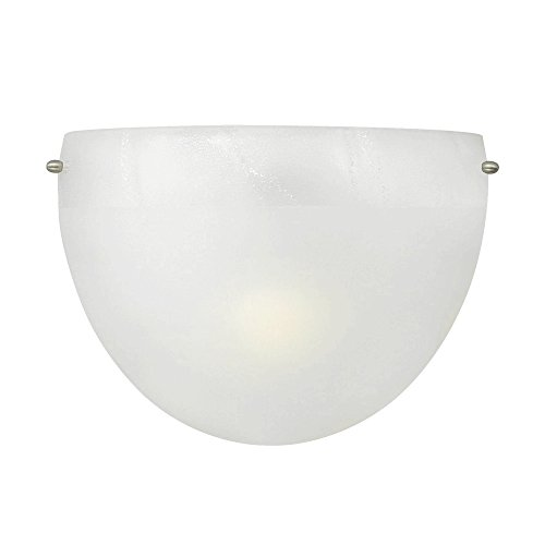 LBL Lighting JW483FRSC2D75 Mojave ADA Compliant Incandescent Wall Light, Satin Nickel Finish with Frost Glass ()