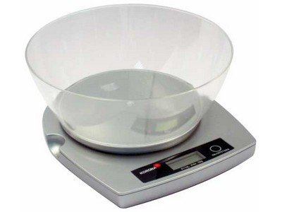 Korona kitchen scales, LCD Dispaly Screen, 5KG Max capacity