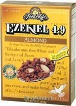 Cereal, Ezekiel 4:9, Sprouted Grain, Almond, Organic, 16 oz.