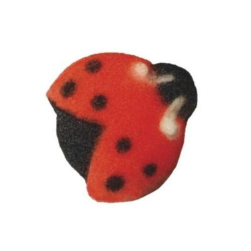 Lady Bugs Cake Dec-Ons Decorations Pack of 24