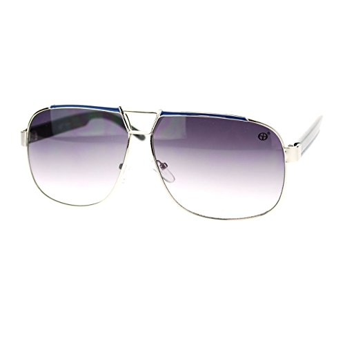 unisex-designer-fashion-sunglasses-square-navigator-shades-silver-blue