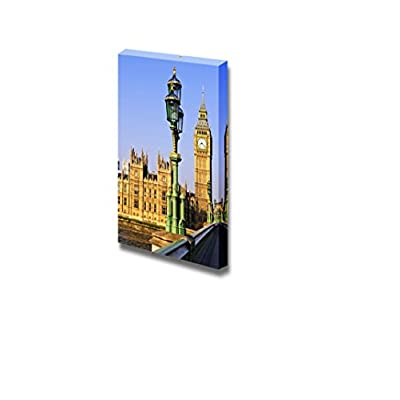 Made With Love, Incredible Creative Design, Houses of Parliament with Big Ben in London from Westminster Bridge Wall Decor
