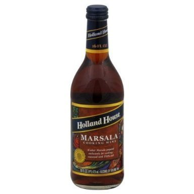 Holland House Marsala Cooking Wine 16.0 OZ(Pack of 2) by Holland House by Holland House
