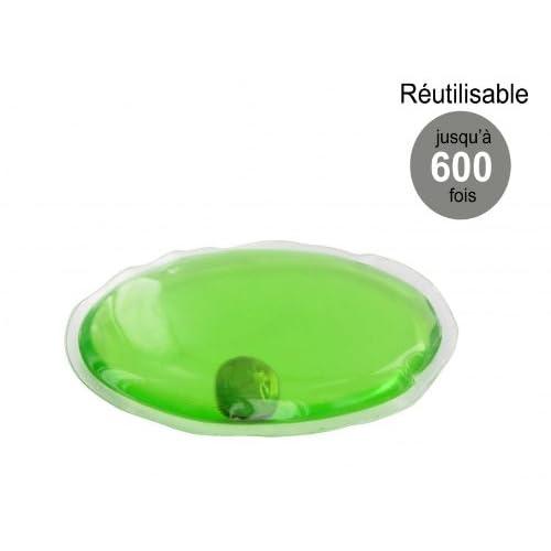 Chaufferette réutilisable Bouillotte Magique petit modèle - Verte