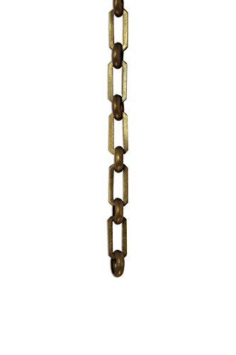 Oxidized Brass Chandelier - 5