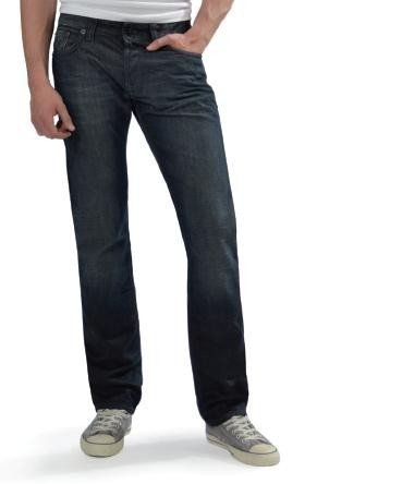 LTB Herren Jeans 'Hollywood' Straight Fit Volcano Wash
