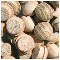 "Used, WIDGETCO 7/16"" Oak Button Top Wood Plugs for sale  Delivered anywhere in USA"