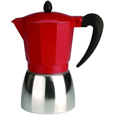 Click for Typhoon Metro Red 9-Cup Espresso Maker