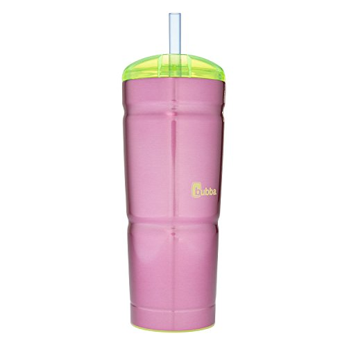 Bubba Envy S Vacuum-Insulated Stainless Steel Straw Tumbler, 24 oz, Paradise Purple