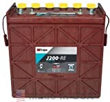 TROJAN J200-RE 12V 200AH (20HR) PREMIUM LINE FLOODED BATTERY