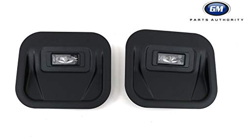 - 2019 Silverado Sierra Tailgate Step Light Kit 84347814 Plug and Play OEM GM