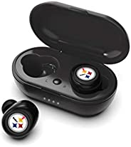 NFL Pittsburgh Steelers True Wireless Earbuds, Team Color