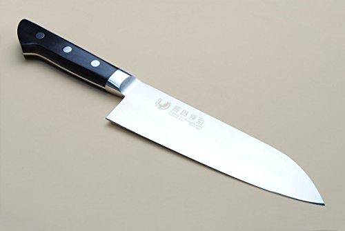 Yoshihiro 180mm Inox Santoku Japanese Chef Knife, 7-Inch by Yoshihiro