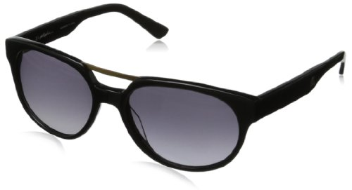3.1 Phillip Lim Men's Dwayne Oval Sunglasses,Black Woods,57 - Lim Phillip Mens
