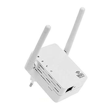 Zantec Extensor de rango inalámbrico de 300 Mbps Amplificador de WiFi Amplificador de señal Amplificador de