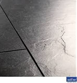 Quick Step Exquisa Tile Slate Black Laminate Flooring