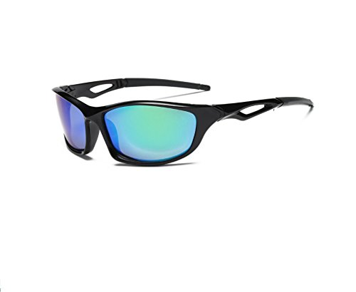 Polarized Sports Sunglasses, for Driving or Sports Activity, for Man Women, Unbreakable Frame, UV Protective
