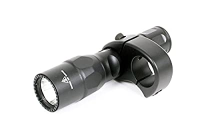 "SureFire 6PX Pro Dual-Output LED Flashlight with L&M 1"" Tube Shotgun Mount - Fits Winchester 1300 Defender; Mossberg 590, 500; Remington 870, 1100, 1187 from SureFire & L&M"