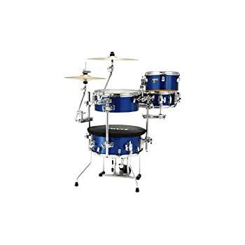 gp percussion gp75sv cocktail drum set silver musical instruments. Black Bedroom Furniture Sets. Home Design Ideas
