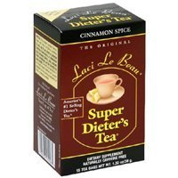 Laci Le Beau, Laci Super Dieter's Tea Cinnamon Spice, 15 Ct (Pack of 36)