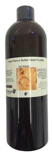 (Texas Peanut Butter Flavor Fountain 16 oz by OliveNation by OliveNation)