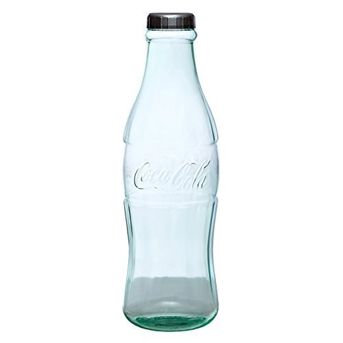 Coca-Cola Coke Bottle Bank for Saving and Storing Coins and Paper Money for Adults or Children Small 12 Inch Coin Bank ()