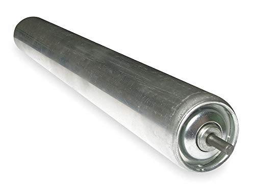 Alum Replacement Roller, 1.9In Dia, 24BF by Ashland Conveyor (Image #1)