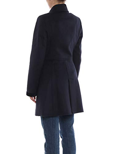Viscosa Naw50374020qayu807 Mujer Abrigo Azul Fay vHOYTn