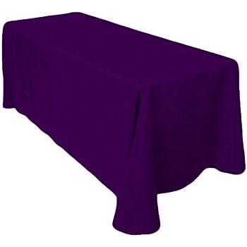 LinenTablecloth Rectangular Polyester Tablecloth