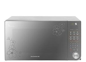 Daewoo KOR-163HMC Encimera 45L 1400W Plata - Microondas (Encimera, 45 L,
