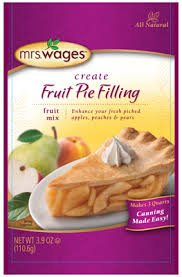 Mrs Wages Apple Pie Mix, 3.9 Ounce (Pack of 4)