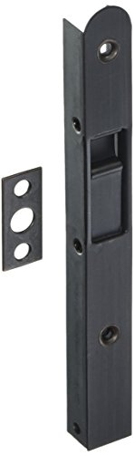 Ultra Hardware 06432 Bolt Flush, Oil Rubbed Bronze, 7-1/16