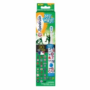 SpinBrush Kids Arm & Hammer – My Way Powered Toothbrush for Boys – 1 ea