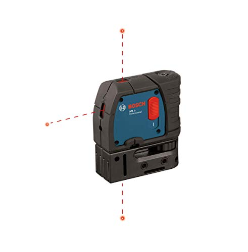 Bosch 3-Point Laser Alignment with Self-Leveling GPL - Laser Five Level Beam