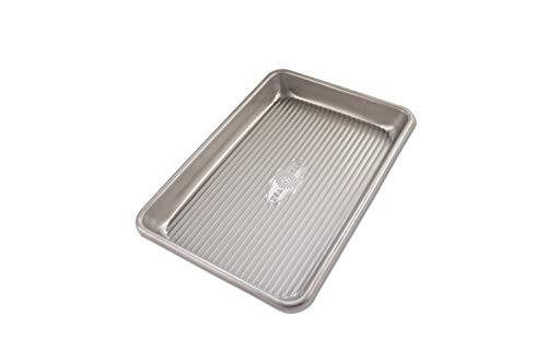USA Pan 1043MS Mini Sheet Warp Resistant Nonstick Baking Pan, Aluminzed Steel