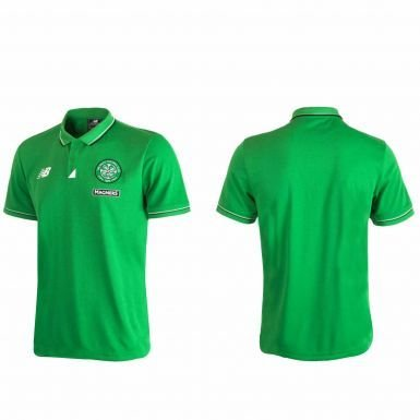 Celtic FC Fútbol Polo Camisa por New Balance, Unisex, large ...