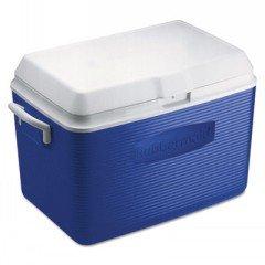 48 Quart Blue Cooler (48 Quart Rubbermaid Cooler)