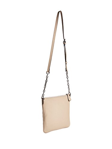 Front Chain Strap Taupe G Pocket Crossbody Women's GUESS Quilted by Northern qqB0TXS