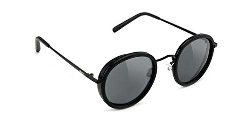 Glassy Sunhaters Sunglasses Lincoln Matte Black with Polarized Grey - Lincoln Sunglasses