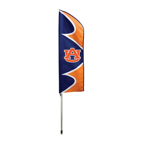 Tigers NCAA Swooper Flag and Pole ()