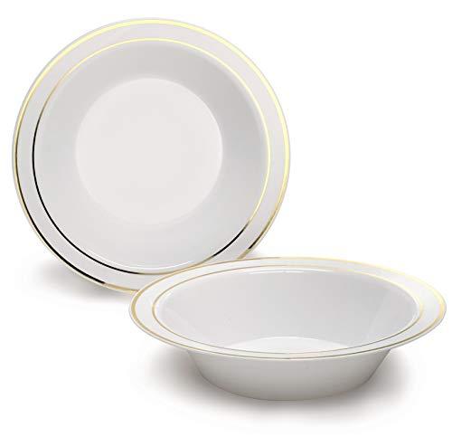Large Rim Soup Plate -
