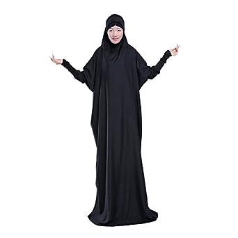 KSH Women's Muslim Traditional Abaya Dress